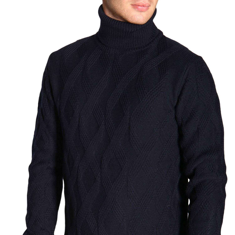 Pullover herren Paolo Pecora blau 5