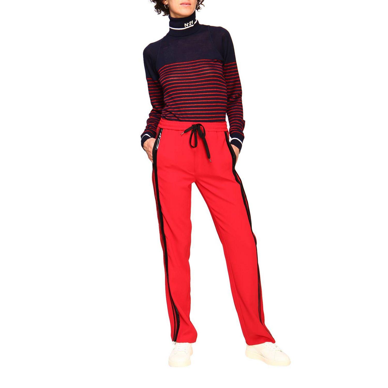 Pantalón N° 21: Pantalón mujer N° 21 rojo 2