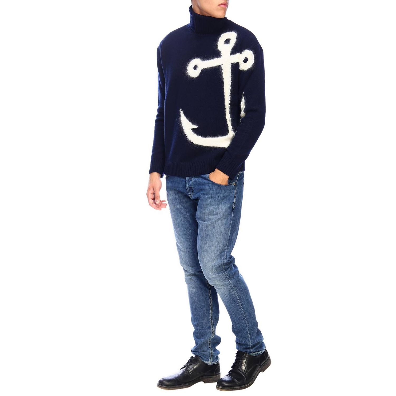 Sweater men N° 21 blue 2