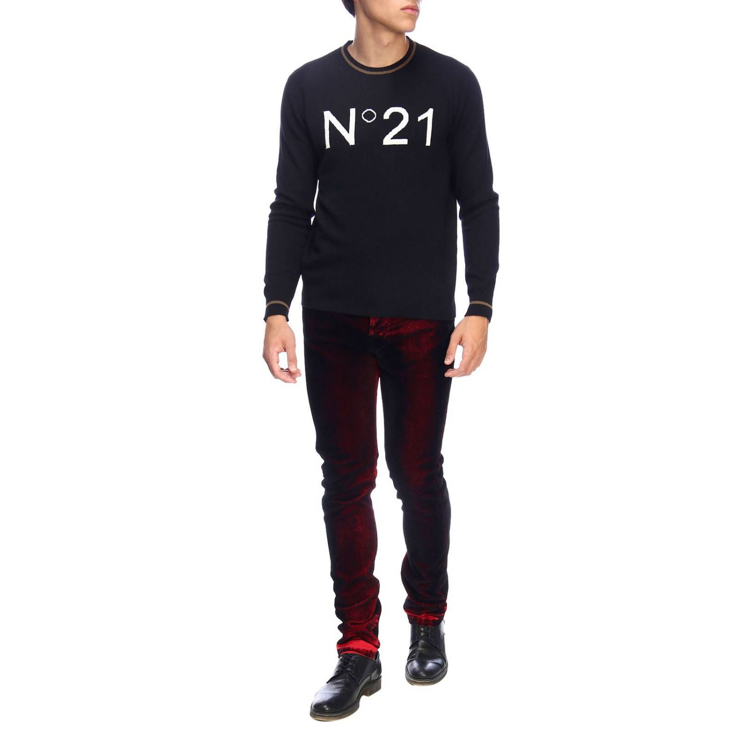Sweater men N° 21 black 2