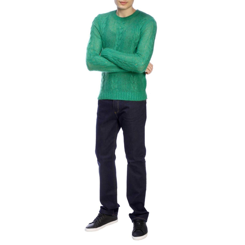毛衣 男士 N° 21 绿色 2