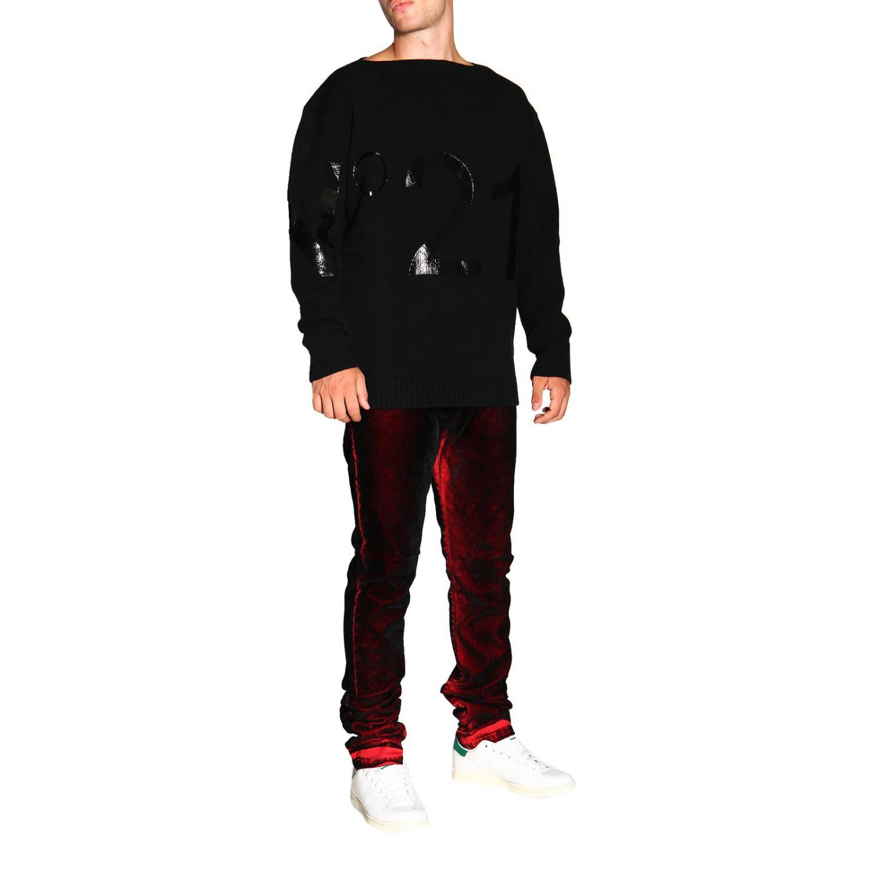 Sweater men N° 21 black 2