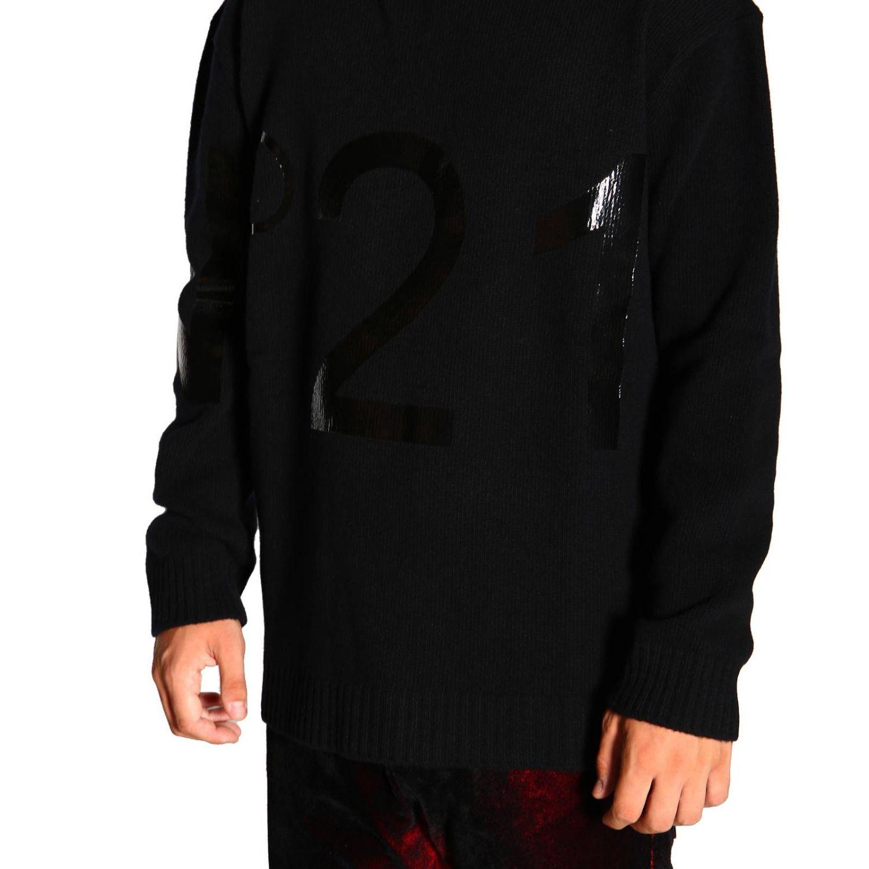 Jersey hombre N° 21 negro 5