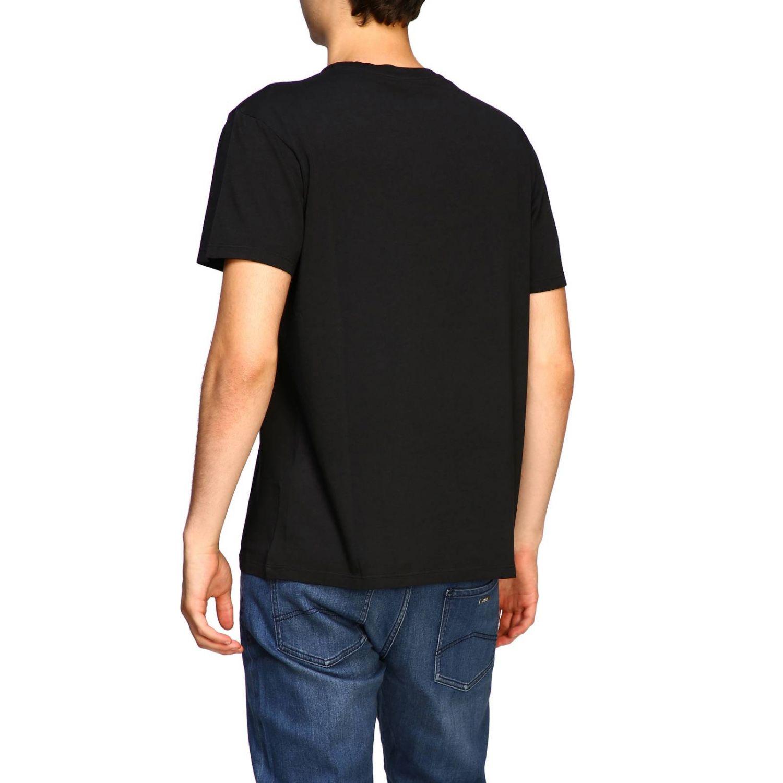 T-shirt herren N° 21 schwarz 3