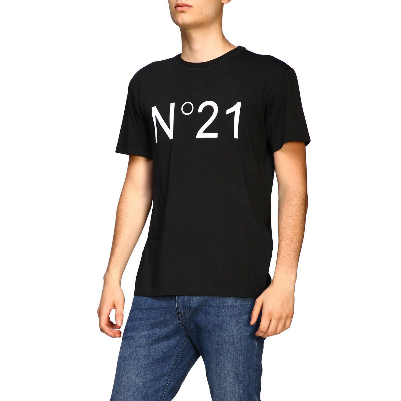 T-shirt herren N° 21 schwarz 4