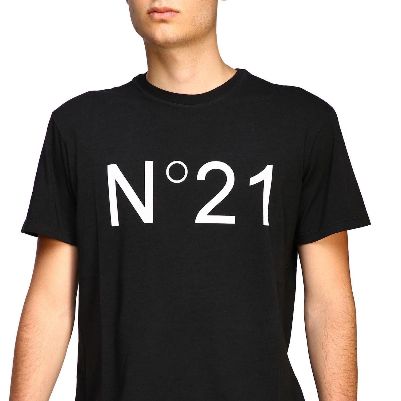 T-shirt herren N° 21 schwarz 5