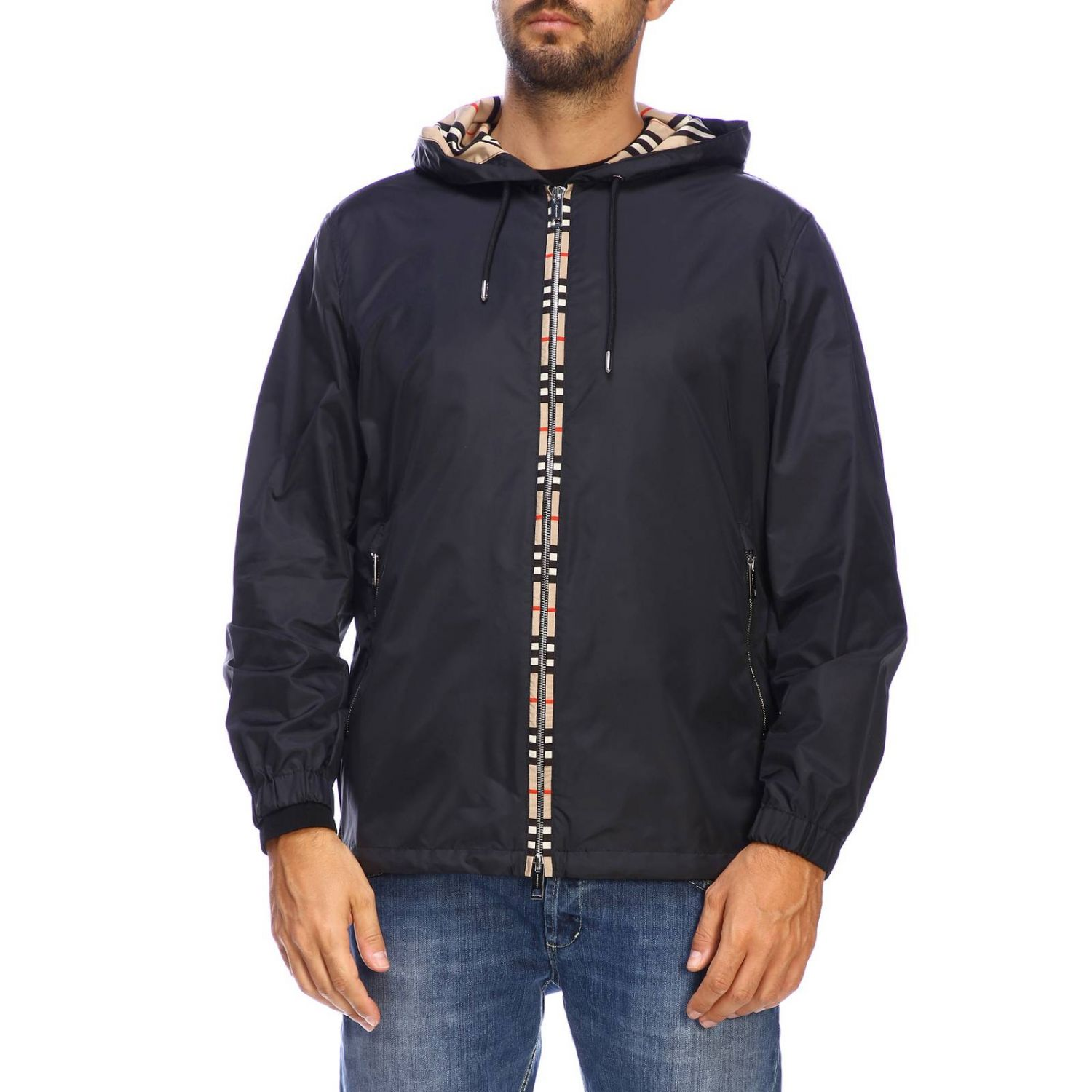 burberry nylon jacket mens