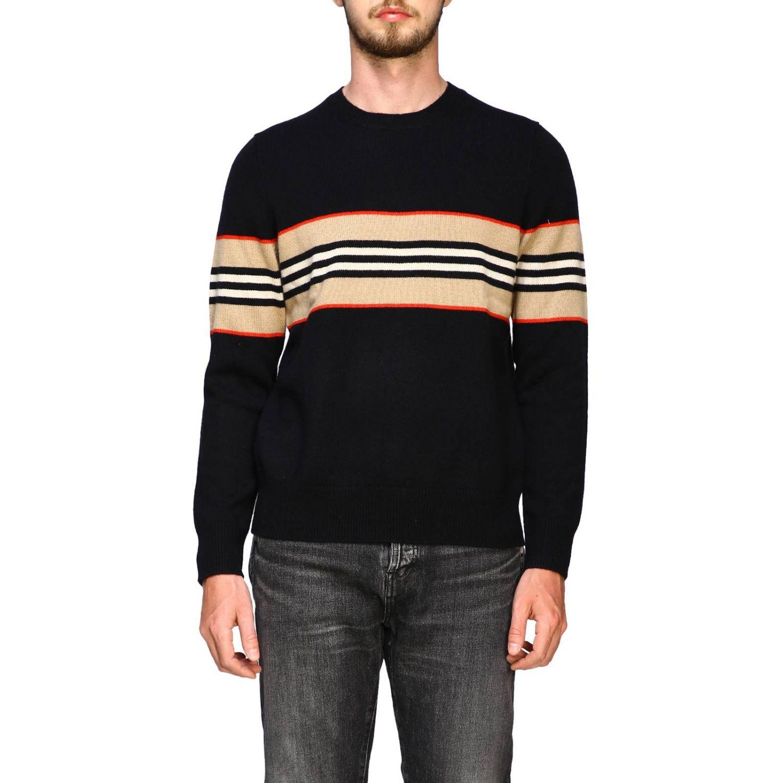 Sweater men Burberry black 1