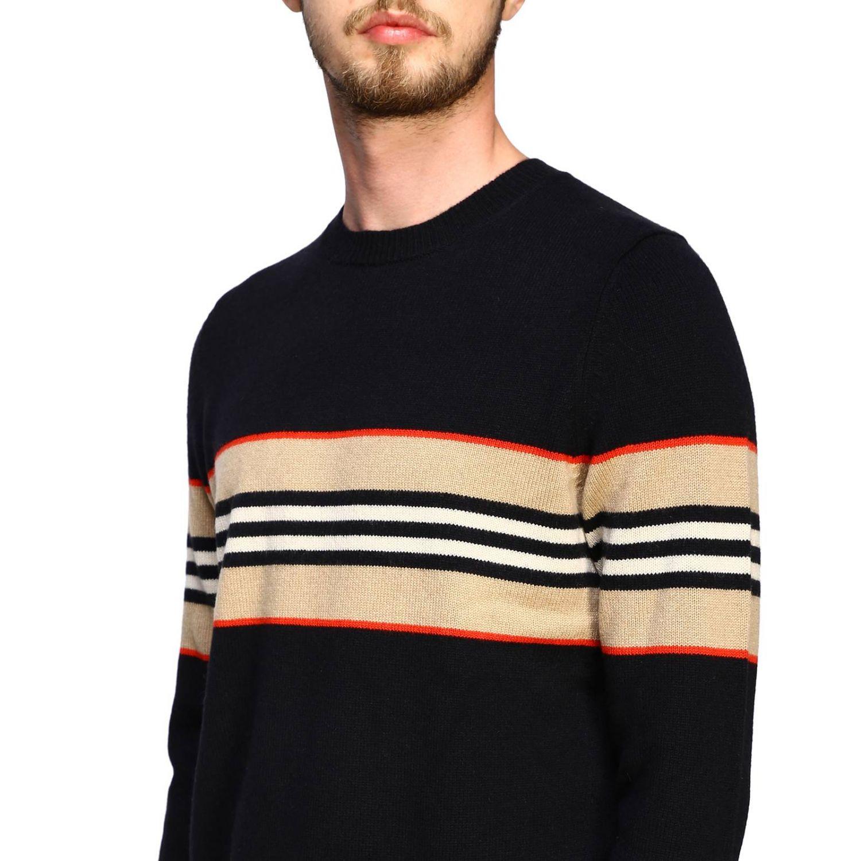 Sweater men Burberry black 5