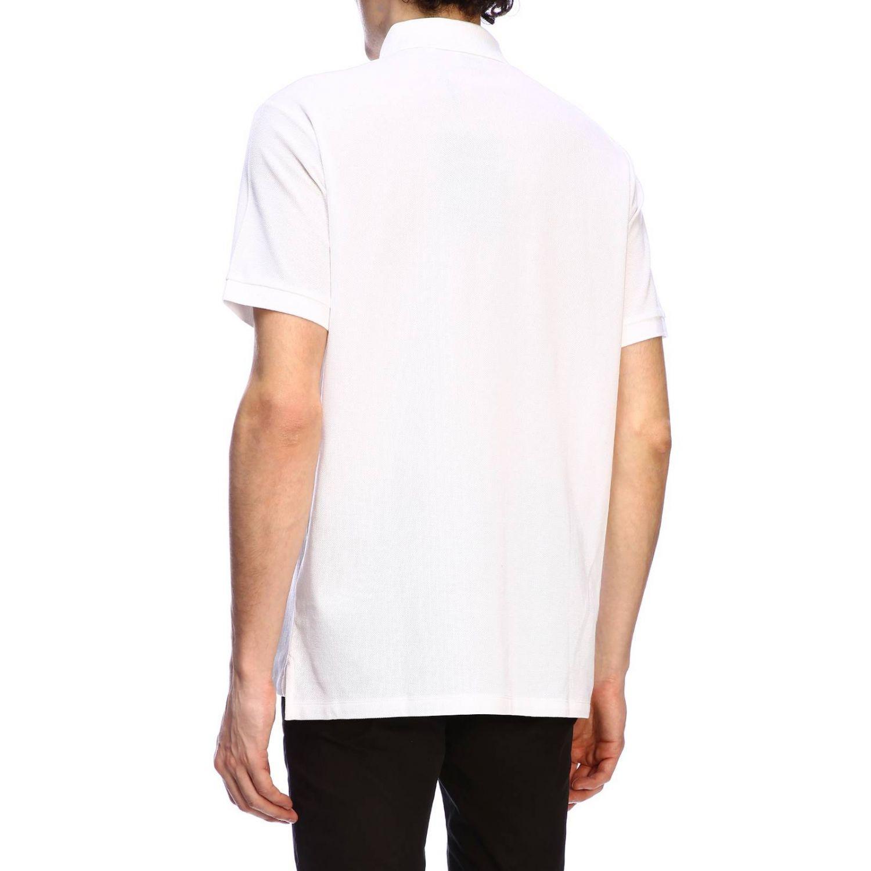 T-shirt Burberry: Polo basic a maniche corte con ricamo TB Burberry bianco 3
