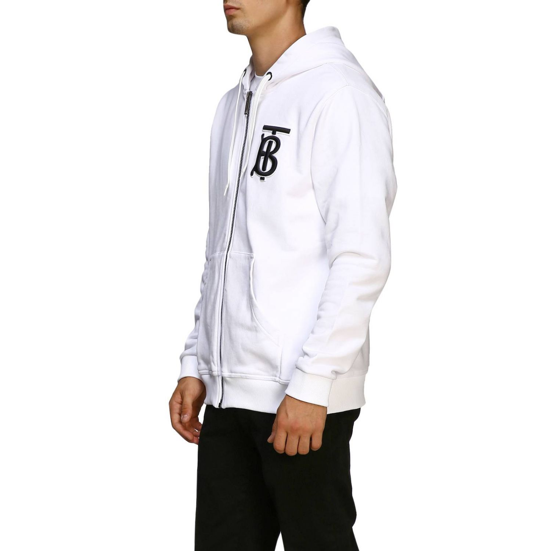 Sweater men Burberry white 4
