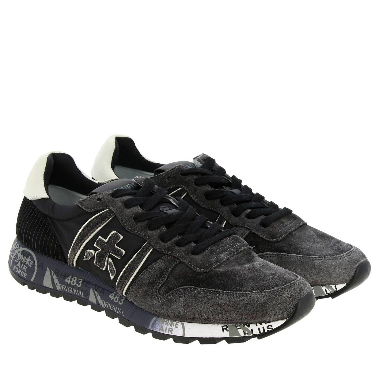 Shoes men Premiata grey 2