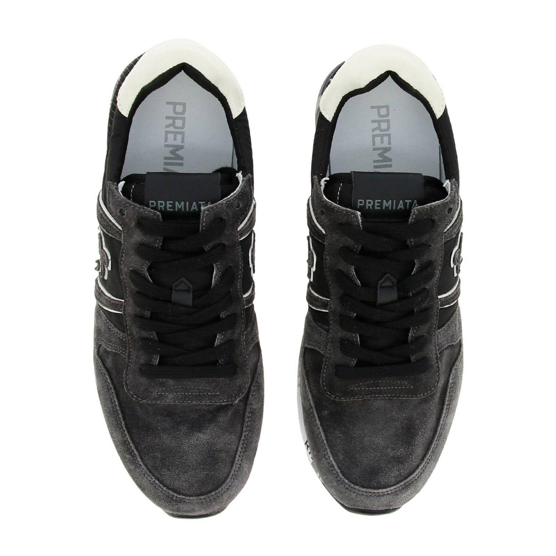 Shoes men Premiata grey 3
