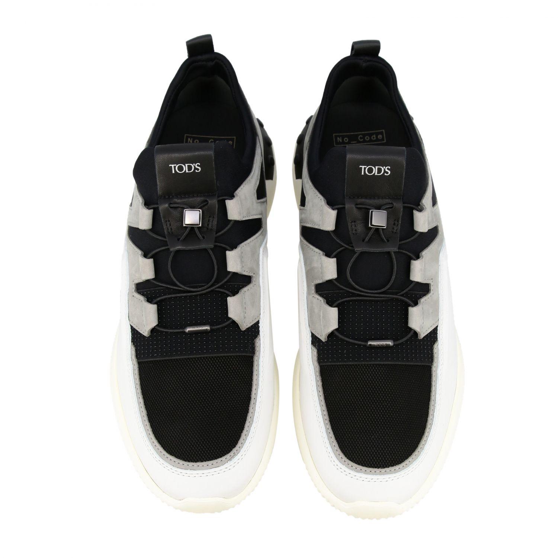 Schuhe herren Tod's weiß 3