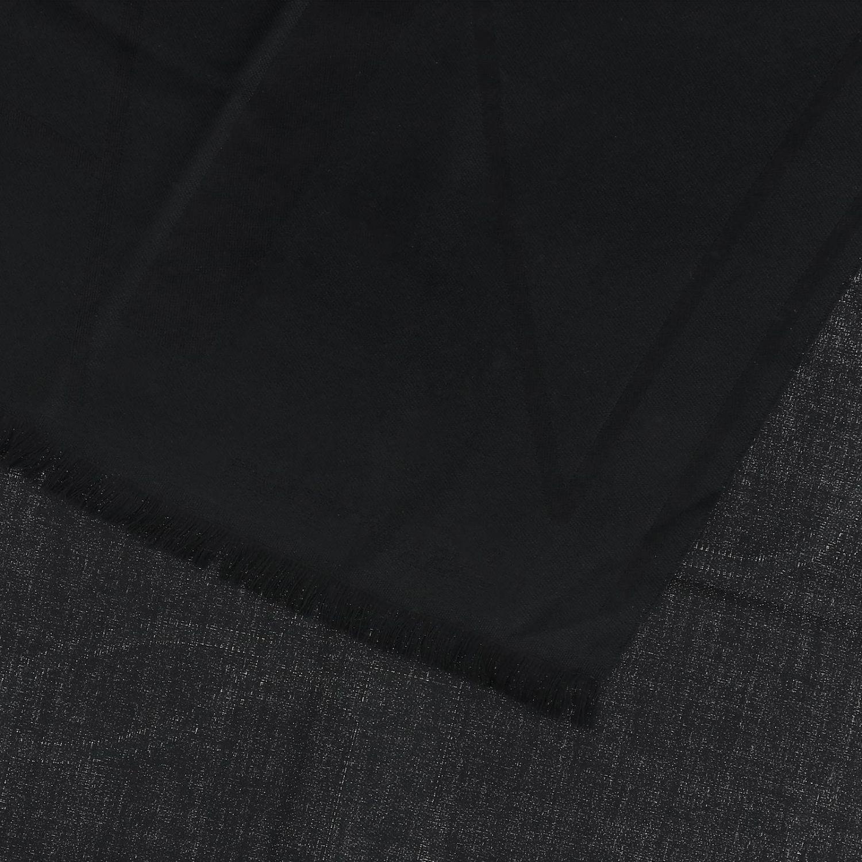 Schal Emporio Armani: Emporio Armani Schal aus gemischter Wolle mit Logo schwarz 3