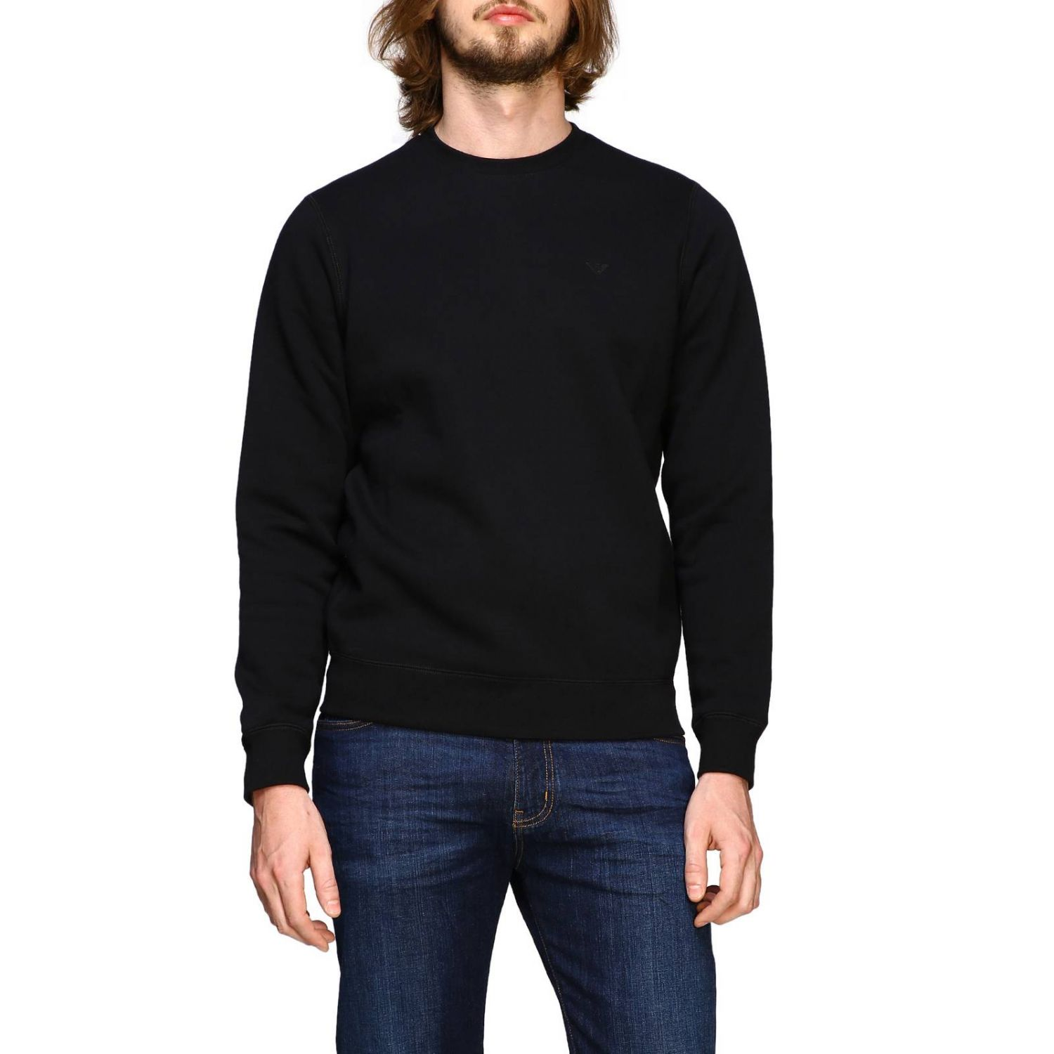 Sweater men Emporio Armani black 1