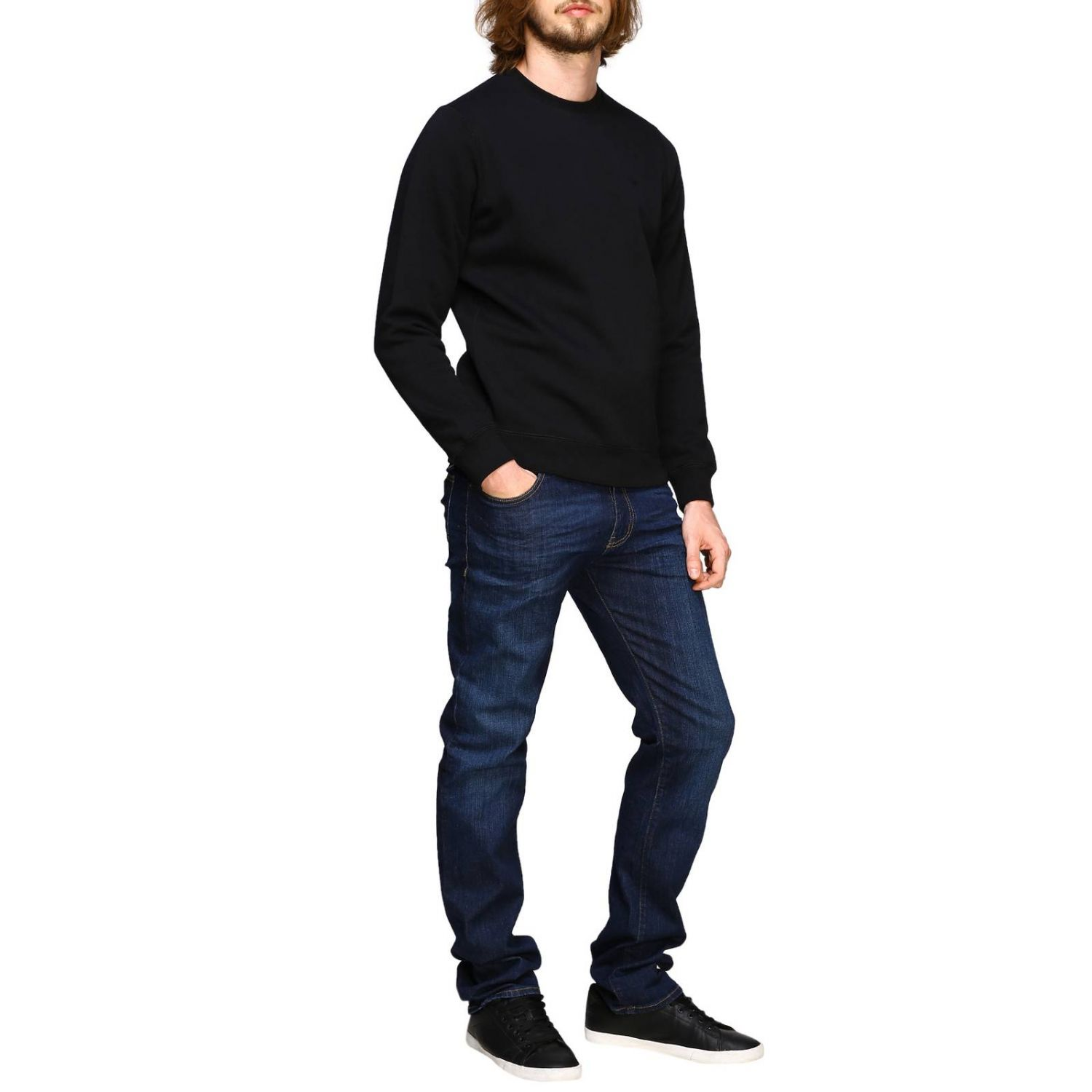 Sweater men Emporio Armani black 2