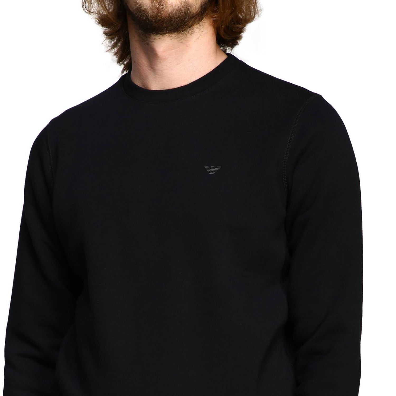 Sweater men Emporio Armani black 5