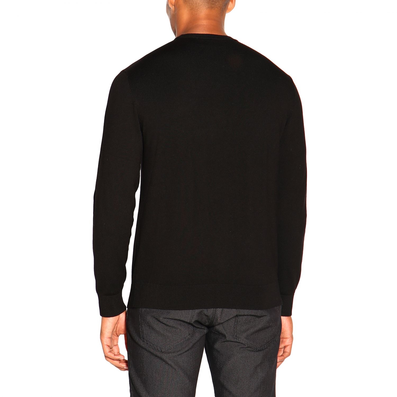 Jersey hombre Emporio Armani negro 3