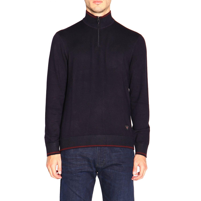 Sweater Emporio Armani: Sweater men Emporio Armani blue 1