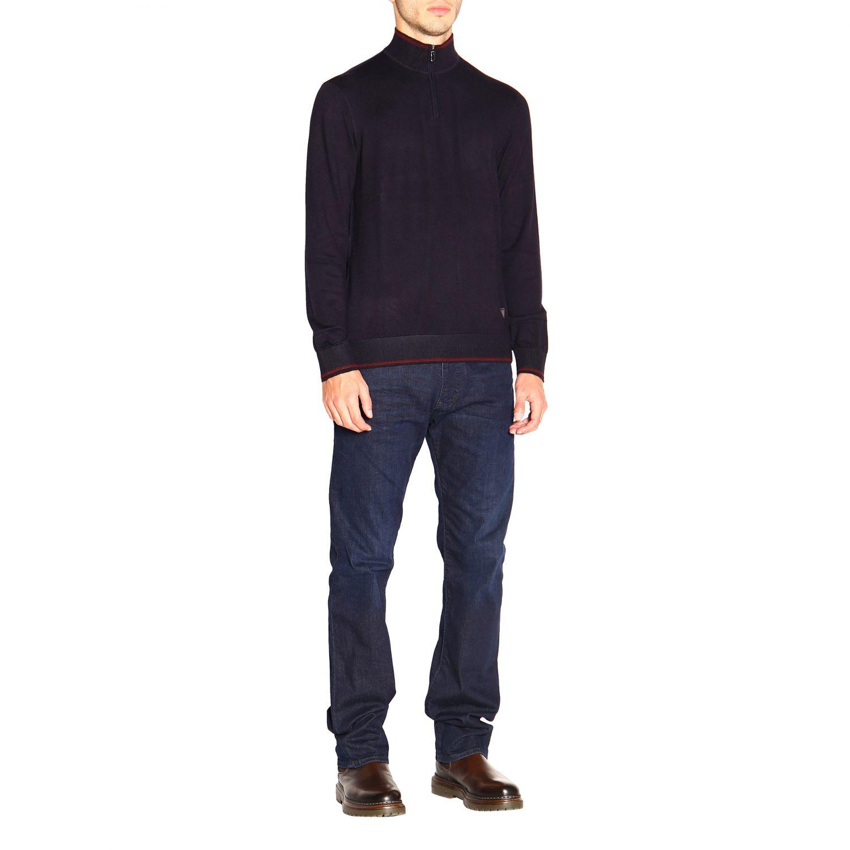 Sweater Emporio Armani: Sweater men Emporio Armani blue 2