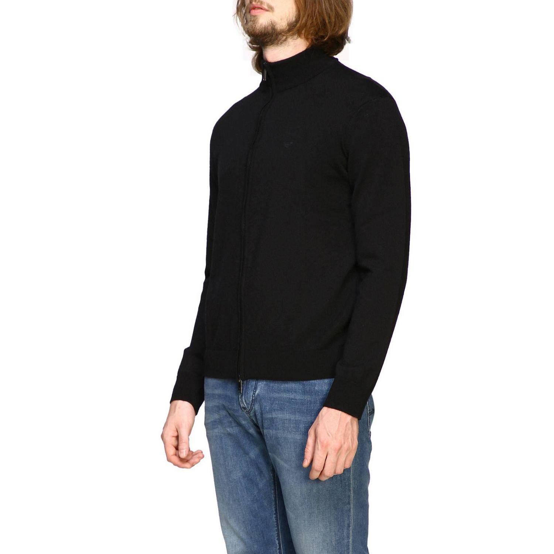 Sweater men Emporio Armani black 4