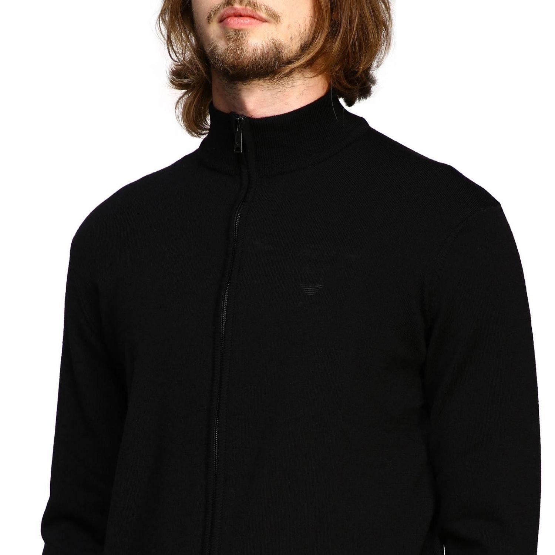 Sweater men Emporio Armani black 5