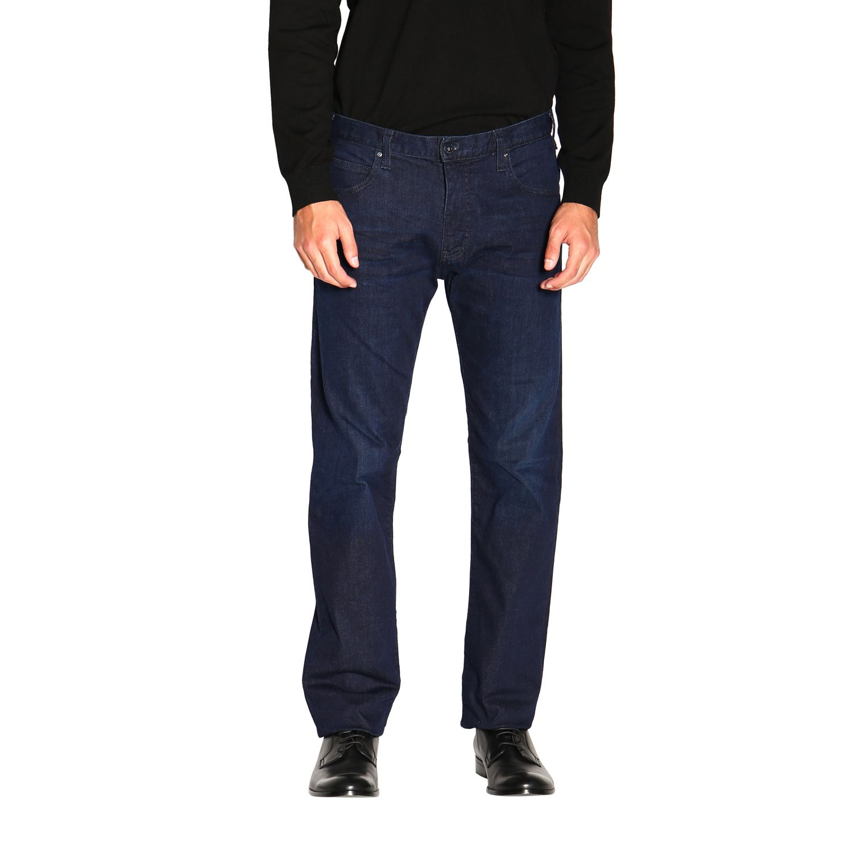 Jeans Emporio Armani: Emporio Armani Slim Fit Stretch Jeans used 9,5 once blau 1