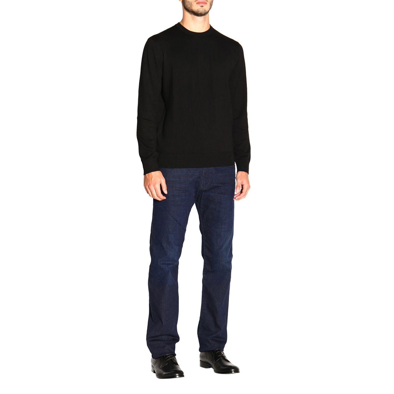 Jeans Emporio Armani: Emporio Armani Slim Fit Stretch Jeans used 9,5 once blau 2