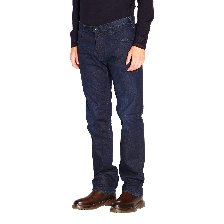 Jeans Emporio Armani: Emporio Armani Slim Fit Stretch Jeans used 9,5 once blau 4