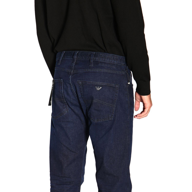 Jeans Emporio Armani: Emporio Armani Slim Fit Stretch Jeans used 9,5 once blau 5