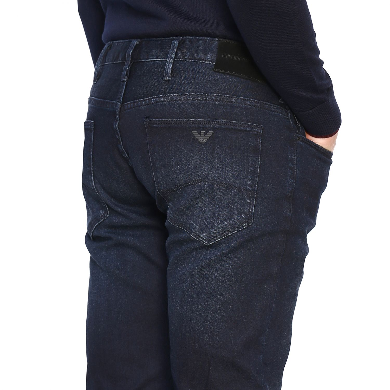 Jeans Men Emporio Armani Jeans Emporio Armani Men Blue Jeans Emporio Armani 6g1j06 1duaz Giglio En