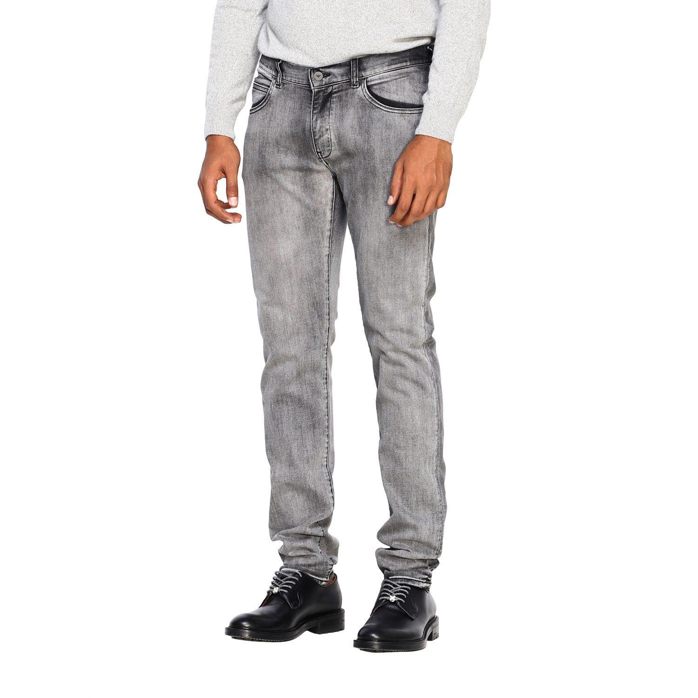 Jeans Emporio Armani: Jeans men Emporio Armani grey 4