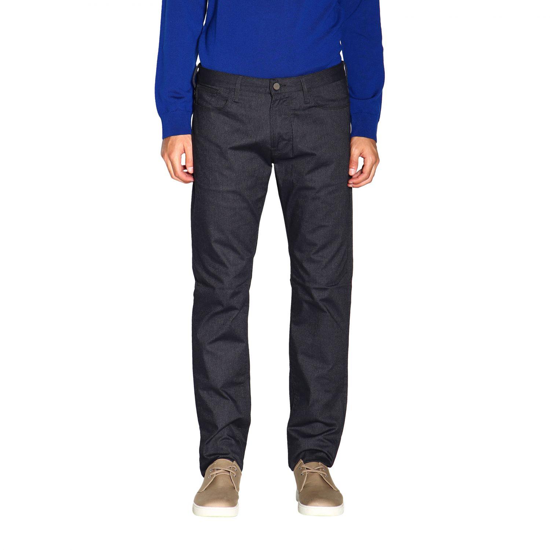 Pants Emporio Armani: Pants men Emporio Armani blue 1