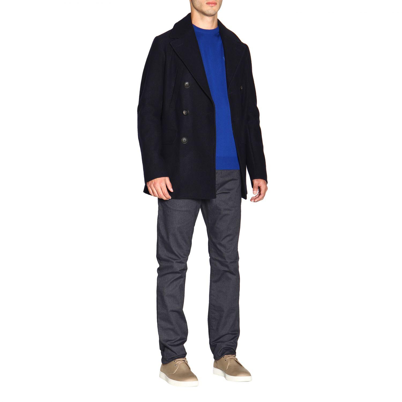 Pants Emporio Armani: Pants men Emporio Armani blue 2