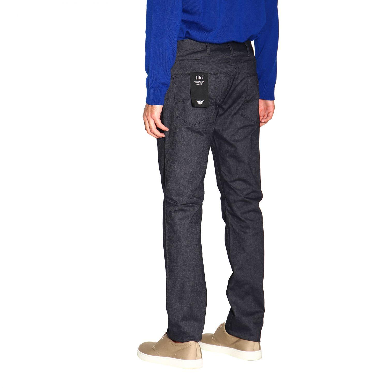 Pants Emporio Armani: Pants men Emporio Armani blue 3