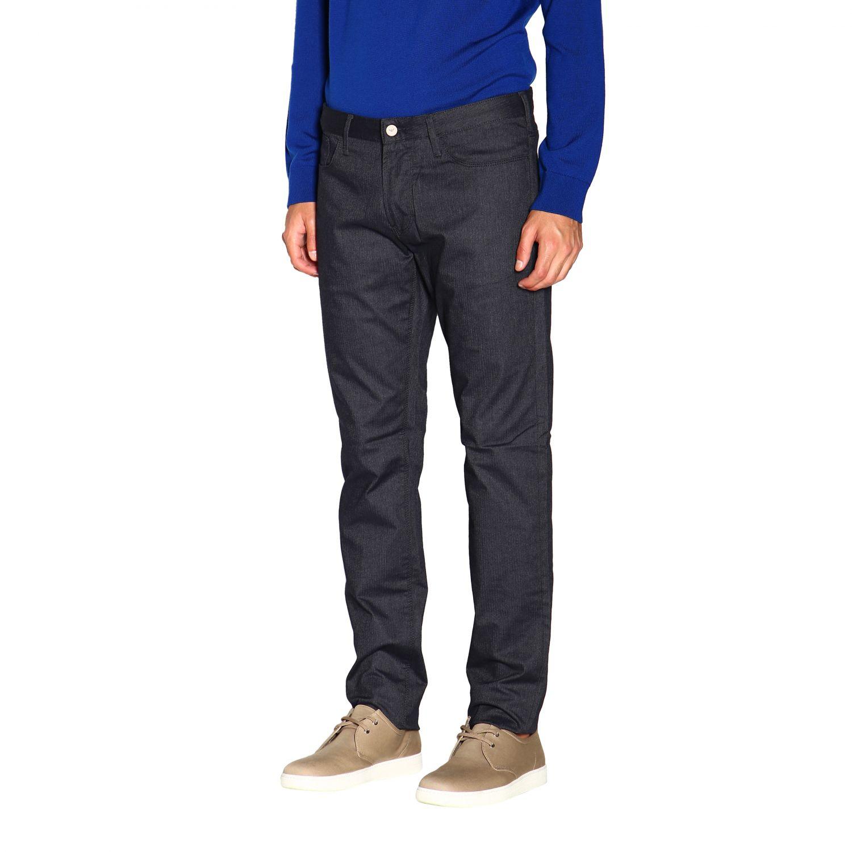 Pants Emporio Armani: Pants men Emporio Armani blue 4