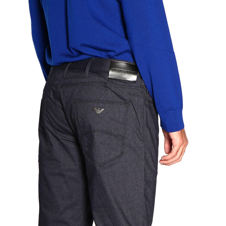 Pants Emporio Armani: Pants men Emporio Armani blue 5