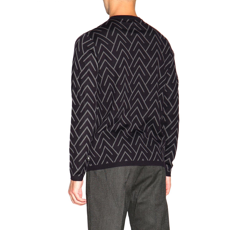 Sweater men Emporio Armani blue 3