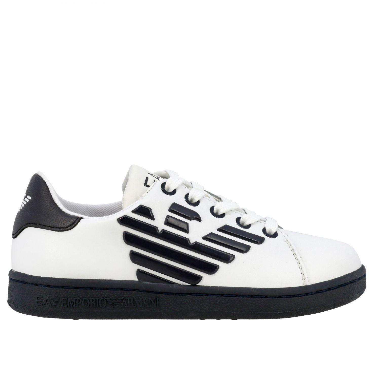 Shoes Ea7: Shoes kids Ea7 white 1