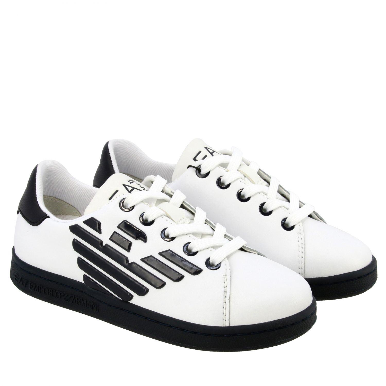 Shoes Ea7: Shoes kids Ea7 white 2