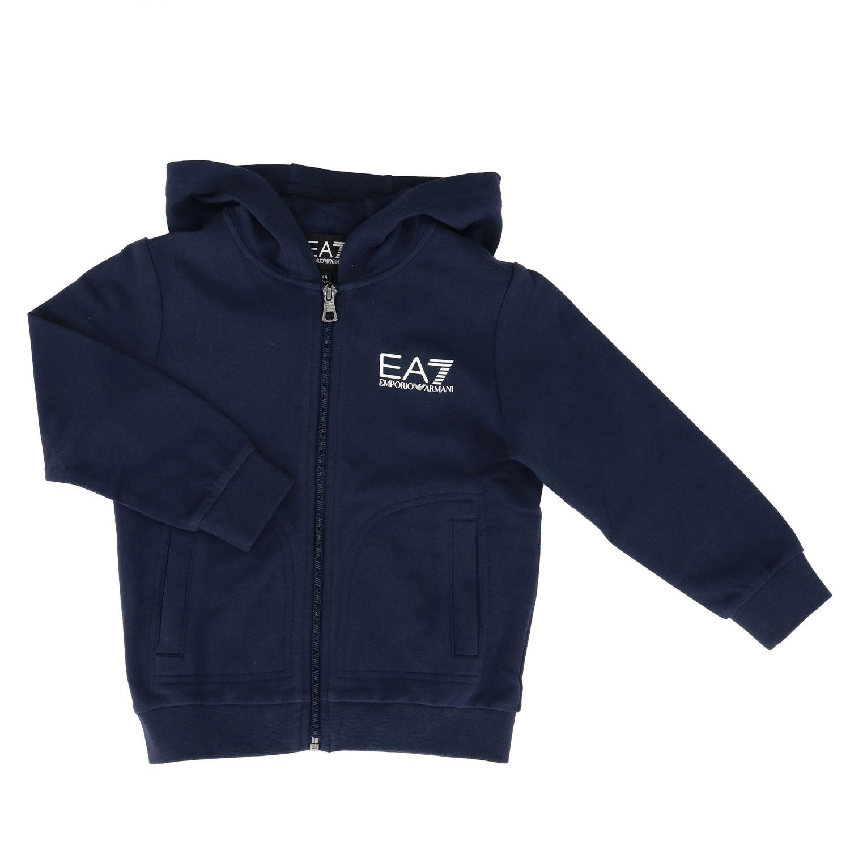 Sweater kids Ea7 blue 1