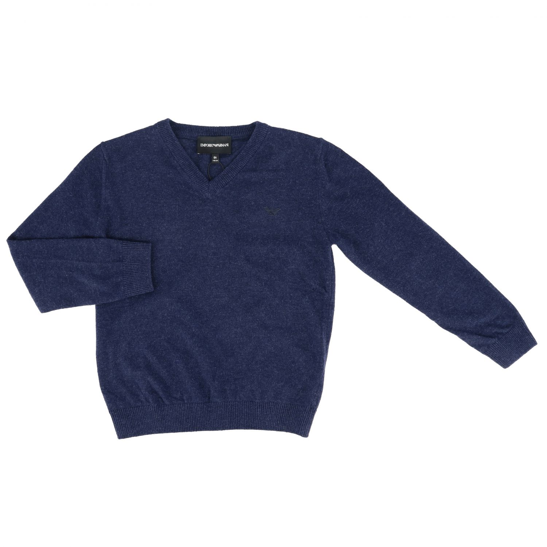 Sweater kids Emporio Armani blue 1