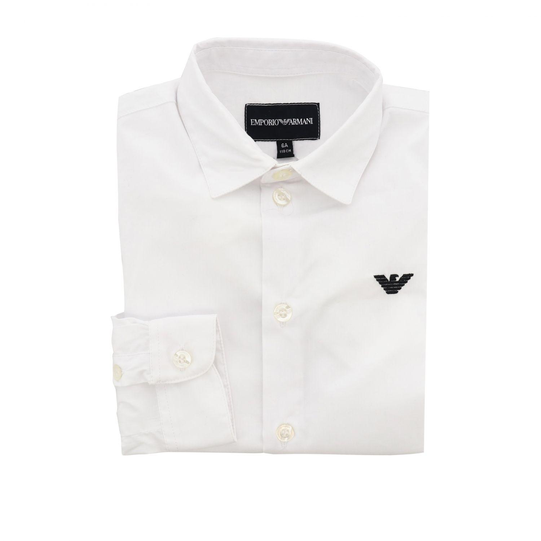 Shirt kids Emporio Armani white 1