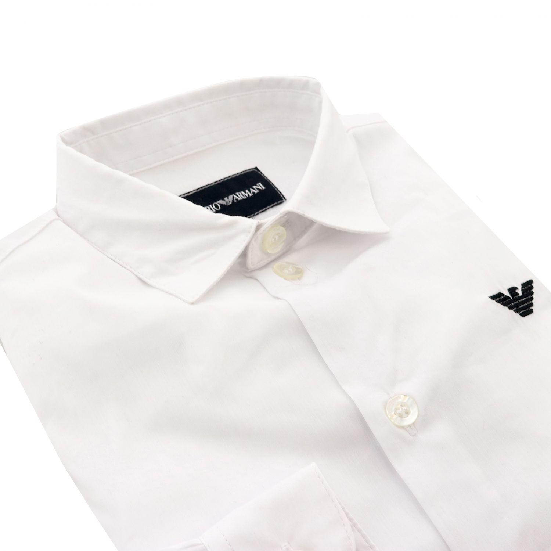 Shirt kids Emporio Armani white 2