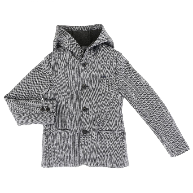 Blazer kids Emporio Armani grey 1