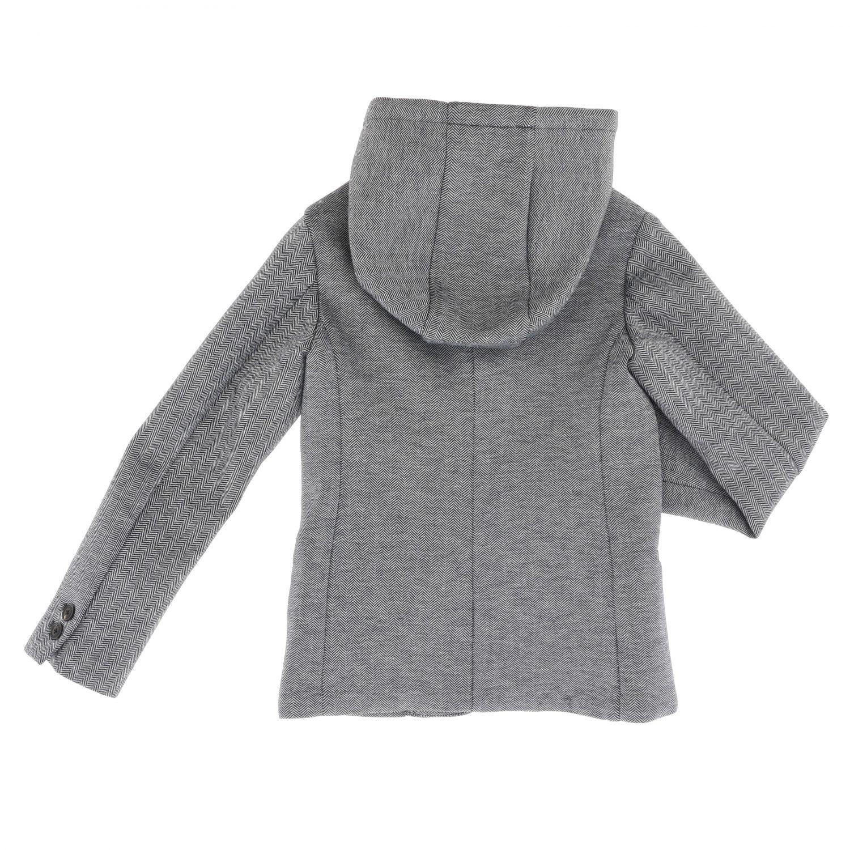 Blazer kids Emporio Armani grey 2