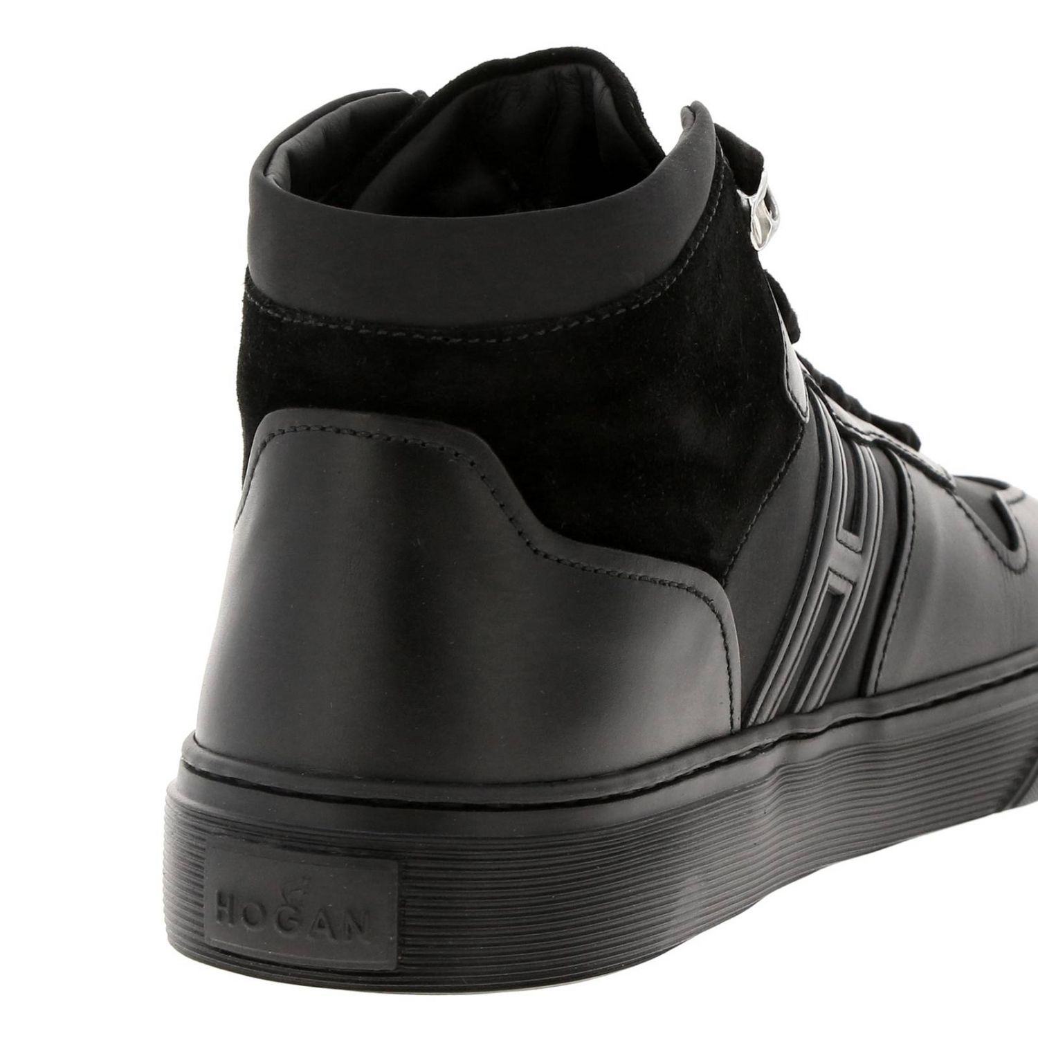 365 Sneakers Hogan Basket in leather and suede