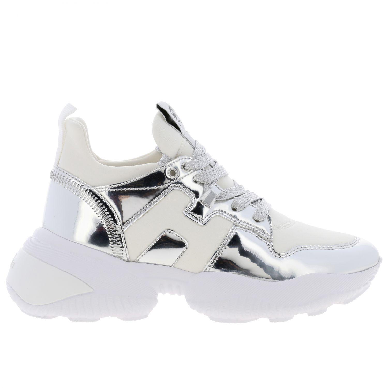 Shoes women Hogan silver 1