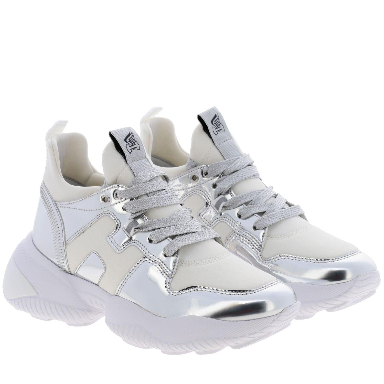 Shoes women Hogan silver 2